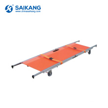 SKB1A07 Portable Emergency Rescue Military Stretcher With Wheels